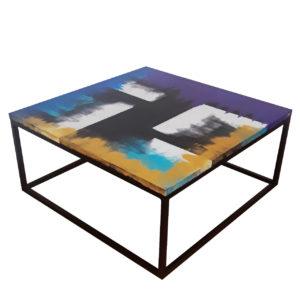 """Tavolino """"Sensazioni di colore"""""""